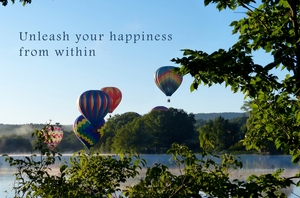 Unleash your happiness from within