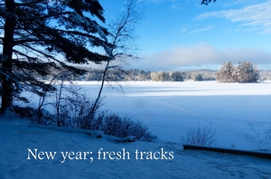 New year; fresh tracks